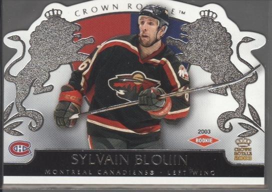 Sylvain Blouin Crown Royale Rookie Card