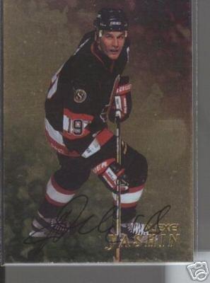 Alexei Yashin '99 BAP GOLD Autograph Card