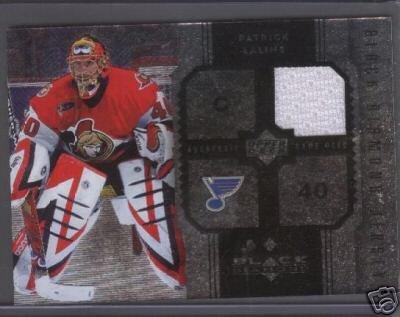 Patrick Lalime 06 Black Diamond Jersey Card