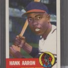 Hank Aaron 1991 Topps Archives 1953 Reprint