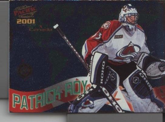 Patrick Roy 2001 Pacific N. American Stars