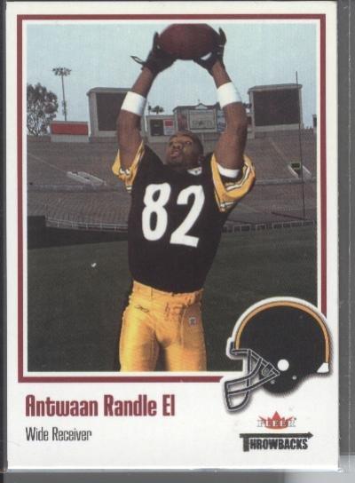Antwaan Randle El '02 Fleer Throwbacks Rookie