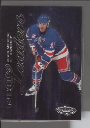 Mark Messier '01 UD Heroes NHL Leaders Card