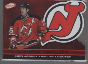 Jason Arnott 02 ATOMIC RED Card #d 113/290