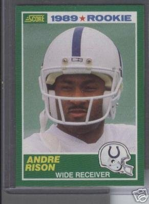 Andre Rison '89 Score Rookie Card