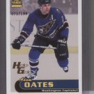 Adam Oates 00 Paramount HoloGold Card