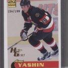 Alexei Yashin 00 Paramount Holo-GOLD card