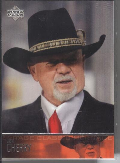 Don Cherry '04 UD Heritage Classic Card