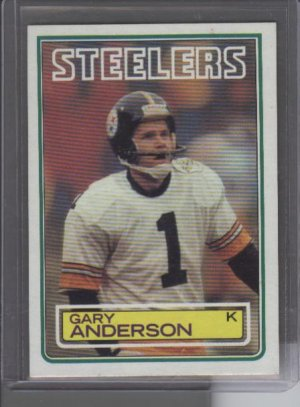 Gary Anderson 1983 Topps ROOKIE Card MINT