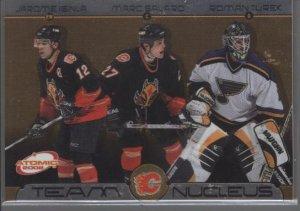 Calgary Flames 2002 Atomic Team Nucleus Card