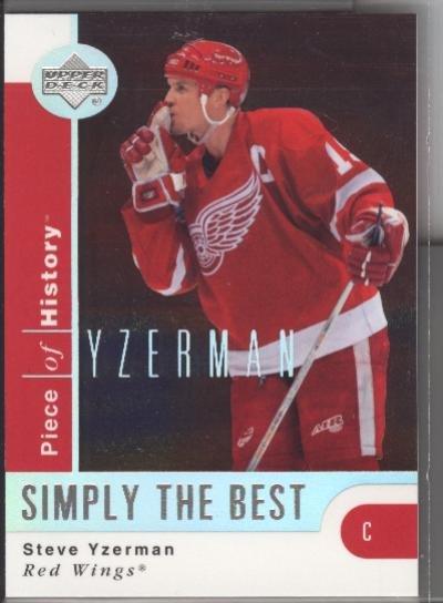 Steve Yzerman UD Simply the Best NR
