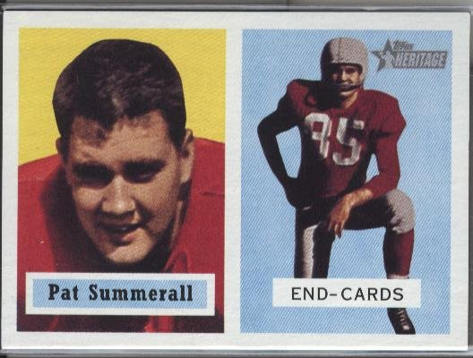 Pat Summerall 1957 Reprint - Topps Heritage 2002