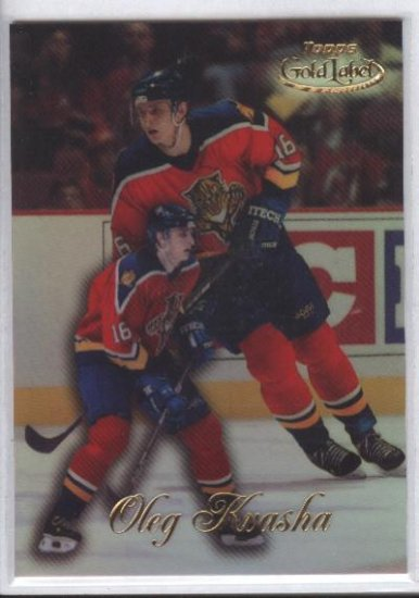 Oleg Kvasha '98-'99 Gold Label Rookie