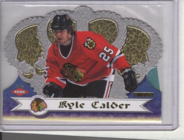 Kyle Calder '00 Crown Royale ROOKIE #d 303/450
