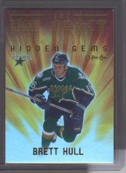 Brett Hull 00-01 OPC NHL Draft Hidden Gems Card