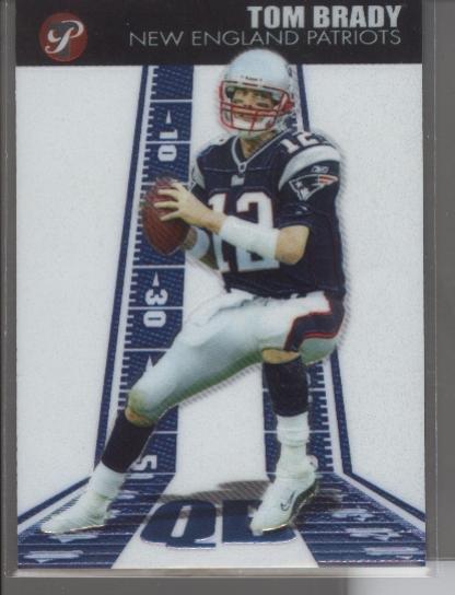 Tom Brady 2004 Topps Pristine Card