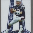 Tom Brady 2004 Topps Pristine Card