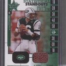 Vinny Testaverde '04 Leaf rookies & stars 'Game-used Ball Card
