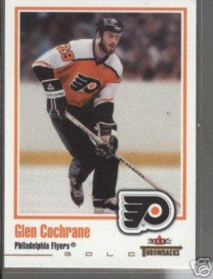 Glen Cochrane '03 Throwbacks GOLD Card