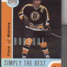 Ray Bourque UD Simply the Best