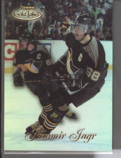 Jaromir Jagr '99 Topps Gold Label Class 1