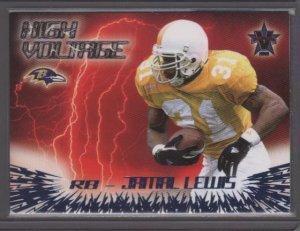 Jamal Lewis 00 Vanguard HIGH Voltage Rookie Year Card