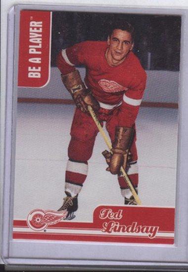 Ted Lindsay 99-00 BAP Memorabilia Card