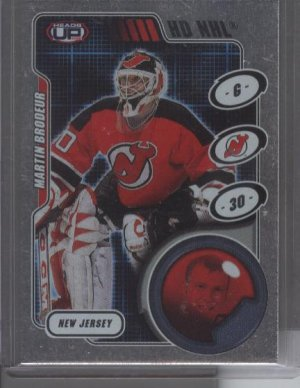 Martin Brodeur '02 Heads-Up HD NHL Card