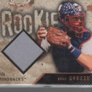 Brad Cresse 2000 UD Black Diamond Rookie Ed. Jersey Card