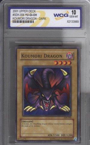 YU-GI-OH Koumori Dragon - Dark Graded 10 GemMINT NR
