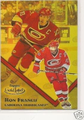 Ron Francis '02 Gold Label Class 2 #d 143/399