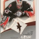 Martin Biron  '03 SP Star Fabrics Game Used
