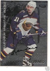 Ray Ferraro 1999 In The Game Autograph
