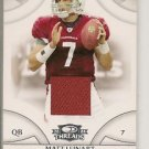 Matt Leinart '08 Donruss Threads Jersey Card #