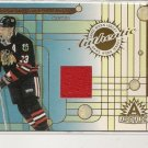 Alexei Zhamnov '02 Adrenaline Game Used Jersey Card