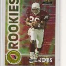 Thomas Jones '00 Topps Finest Chrome Rookie Card #d