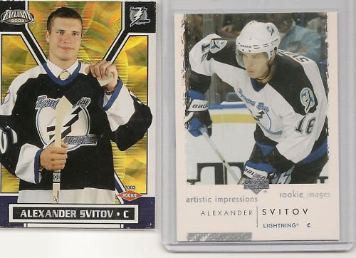 Alexander Svitov '03 (2 ROOKIE card Lot)