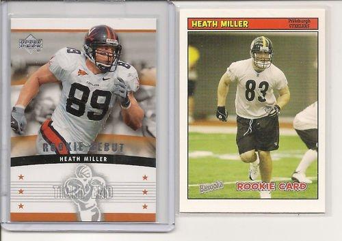 Heath Miller 2005 UD - Bazooka Rookie Cards