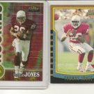 Thomas Jones 2000 ROOKIE CARDS L@@K