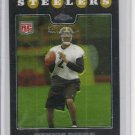 Dennis Dixon 08 Topps Chrome Rookie Card Steelers