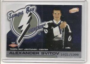 Alexander Svitov '03 Atomic #d Rookie Card