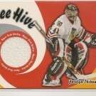 Jocelyn Thibault '04 Bee Hive Game Used Jersey Card