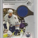 Chris Pronger 06 SP Game Used Ed. Authentic Fabrics