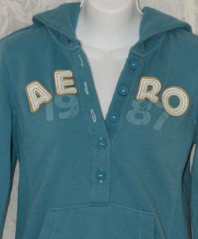 Aeropostale Hoodie Hooded Pullover Sweatshirt size Small