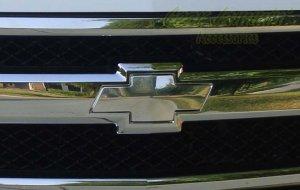 2007-08 Chevy Silverado Billet Aluminum Grill Bowtie Emblem grille