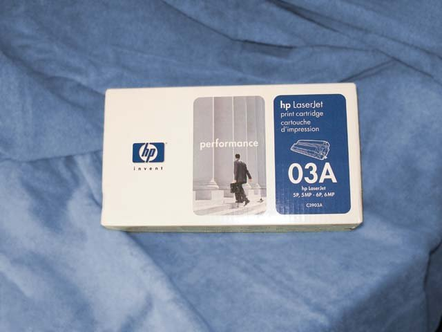 HP Laserjet toner cartridge