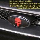 Subaru WRX STi front emblem overlay decal decals 02-05 sticker