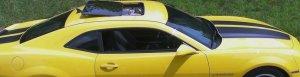 2010 Camaro Racing Rally stripe kit decal decals
