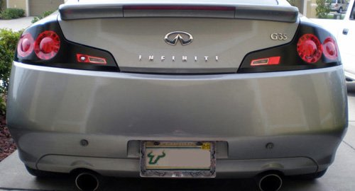 06 07 Infiniti G35 Coupe Gtr Tail Light Overlays Decal