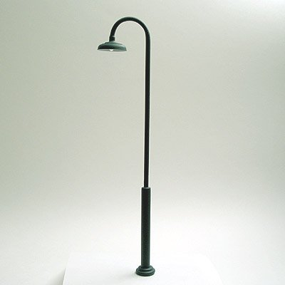 Street Lamp / Light for Large / G-Scale Model Train Layouts - Green